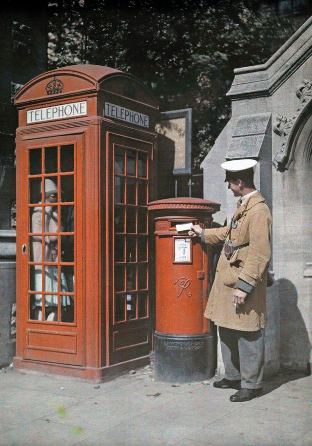 1928年のイングランド > オックスフォードの賑やかな通り