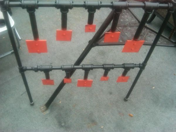 Steel Plate Target Plans   duty steel pictures for some hanging targets changing one at & 28 best Range Targets images on Pinterest   Olympic shooting ...