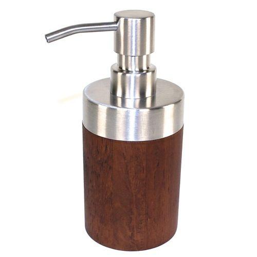 Lotion Soap Dispenser   Designer, Wood U0026 Walnut | Gedy ER81 30 · Wooden  Bathroom AccessoriesSpa ...