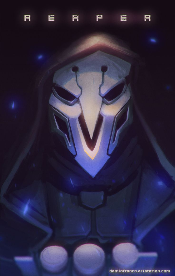 Reaper - Overwatch, Danilo Franco on ArtStation at https://www.artstation.com/artwork/9kDmo