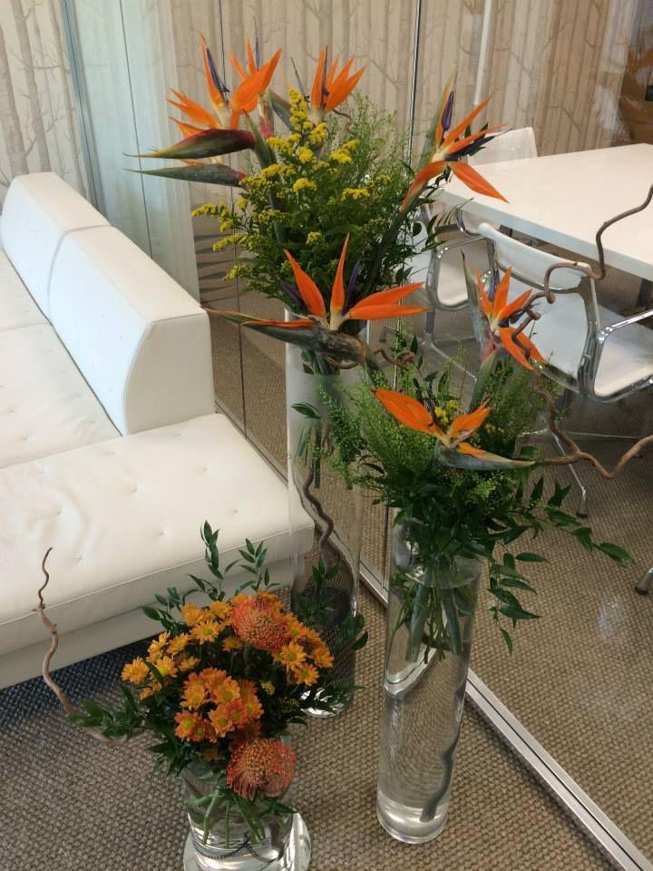Orange exotics with yellow accents by ROSMARINO