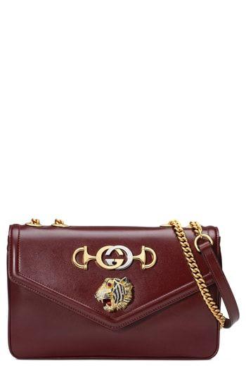 5cec77ac2ca Gucci Medium Rajah Leather Shoulder Bag | On-Trend Shoulder Bags For ...