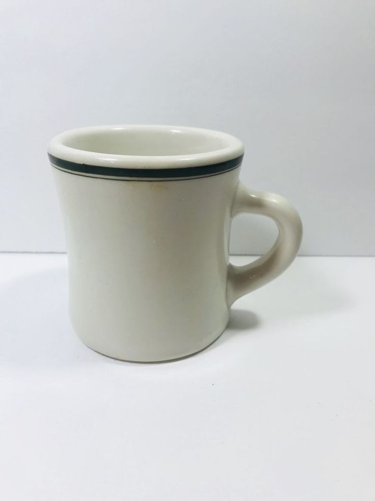 Victor Coffee Mug With Green Band Diner Restaurant Ware | Pottery & Glass, Pottery & China, China & Dinnerware | eBay!