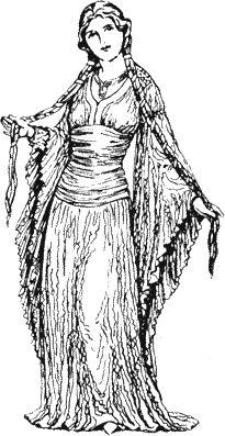 Historie odívání - Úvod k 12.-16.století  Stránky věnované i dochovaným střihům