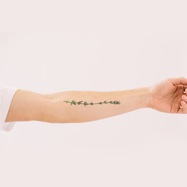 Thyme tattoo from @Tattly! So perfect.