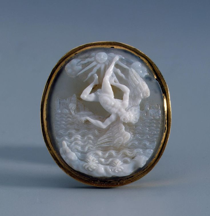 The Fall of Icarus | onyx, gold, Italy late 16th - early 17th c.