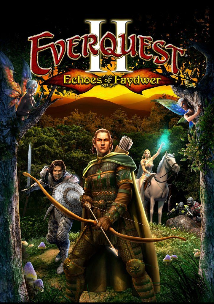 EverQuest II: Echoes of Faydwer Poster | EverQuest in 2019