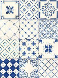 #fondos #blanco #azul #ceramica