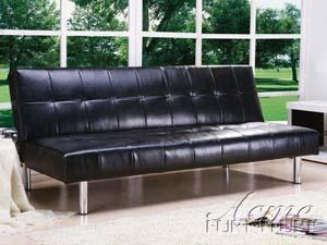 ACME Furniture Inc. - - Futons & Adjustable Sofa-(05994 SET)Black Finish Bycast Adjustable Sofa