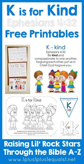 Best Bible Alphabet For Preschool Images On