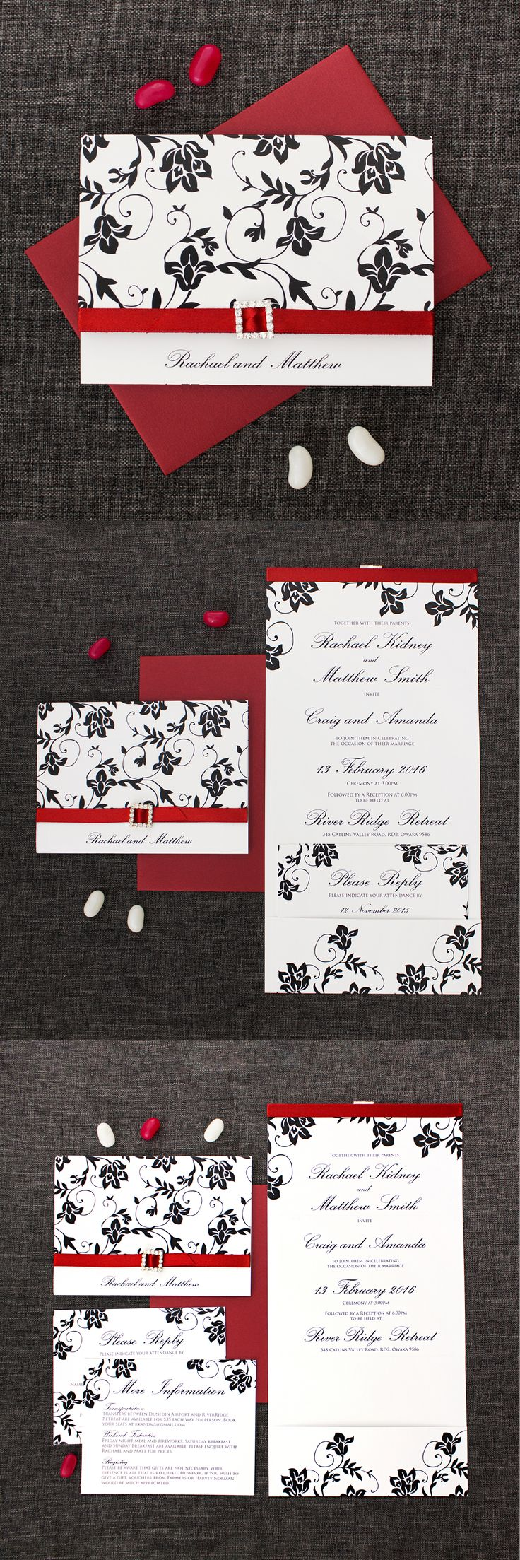Michaels crafts wedding invitations - The Classic Concertina Wedding Invitation
