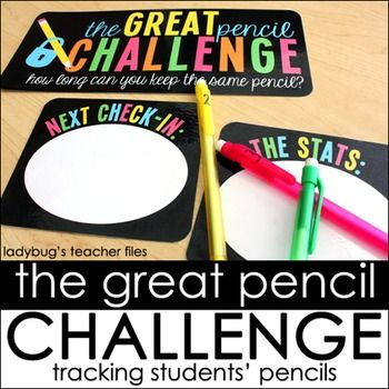 This is an additional file to the original Great Pencil Challenge...Challenge…