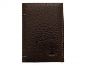 Carrying money in a stylish leather card holder is the current trend and if you don't miss out the opportunity to be a part of it then buy this amazing Ted Cole Slim Brown leather card holder.