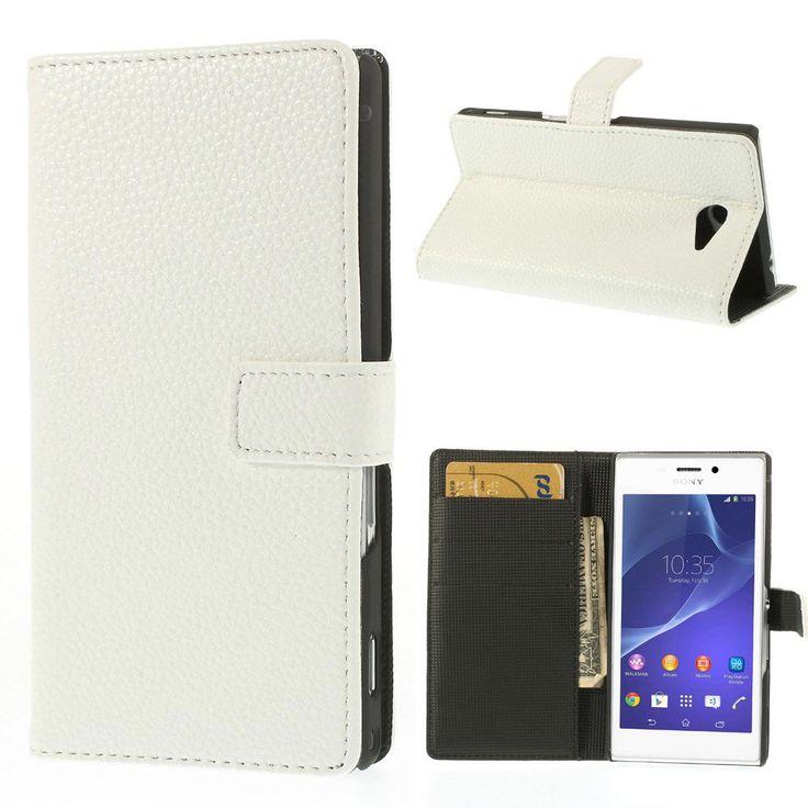 Θήκη Πορτοφόλι Wallet Case Λευκό (Sony Xperia M2 S50h) - myThiki.gr - Θήκες Κινητών-Αξεσουάρ για Smartphones και Tablets - Χρώμα λευκό