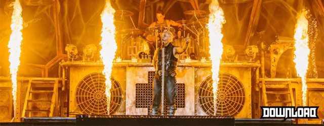 German metal behemoths Rammstein close out the 2013 Download Festival in their own truly unique style with fire, fireworks and sodomy...