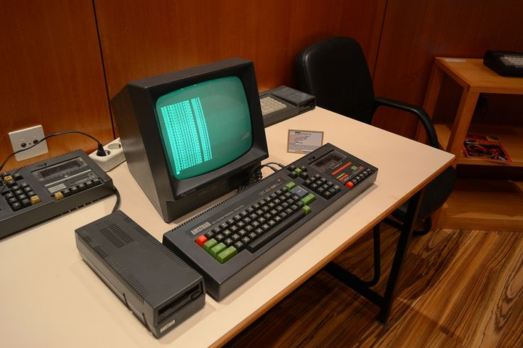 Amstrad CPC 646 with Disc Drive.