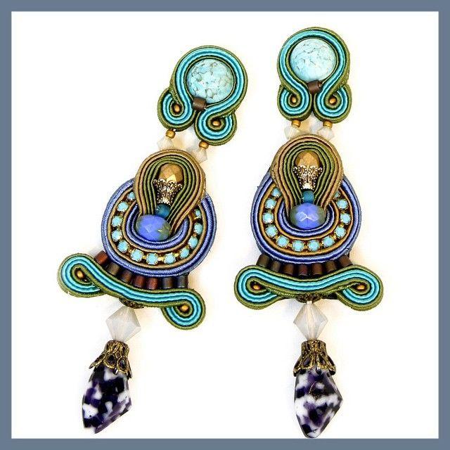 Azul earrings. #doricsengeri #earrings #longearrings #turquoise #fashion #design #jewelry