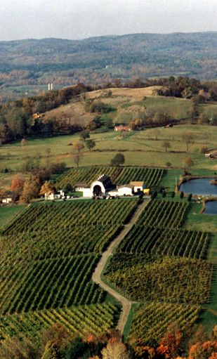 Millbrook Winery near Rhinebeck.