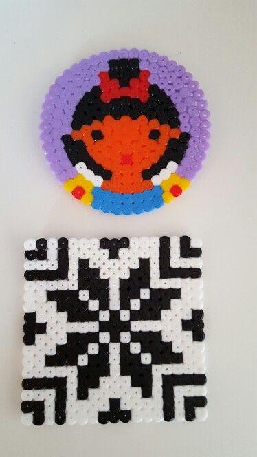 Pärlplattor med mönster från pinterest