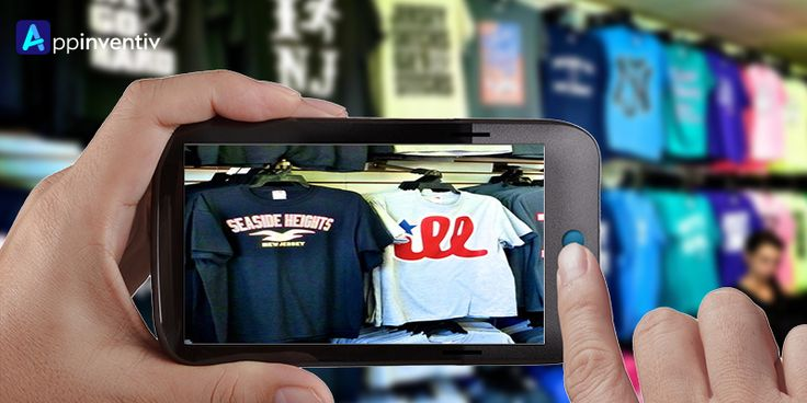 #AR (Augmented Reality) used by the retailers for an enhanced shopping experience for their customers & influencing the customers in their buying decisions.