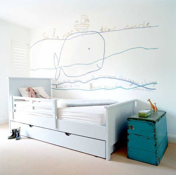 the boo and the boy: Cool kids' room art