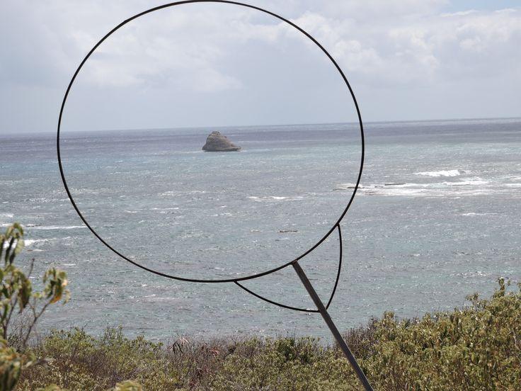 Trace de la Pointe à #Cabrits. #Guadeloupe #Antilles #France