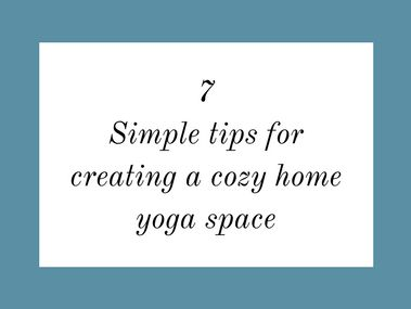 Here are 5 simple tips for creating a peaceful yoga space for your ultimate relaxation! Creating a zen yoga space at home (even in small spaces!) is easy, affordable, and make for oh so blissful yoga moments. Grab the FREE checklist to help you get started! // Small yoga space ideas, yoga space decor ideas, yoga space tips, yoga space ideas #meditationspace