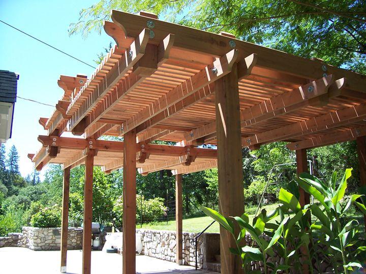 11 best Patio overhang images on Pinterest   Backyard ... on Backyard Overhang Ideas id=30894