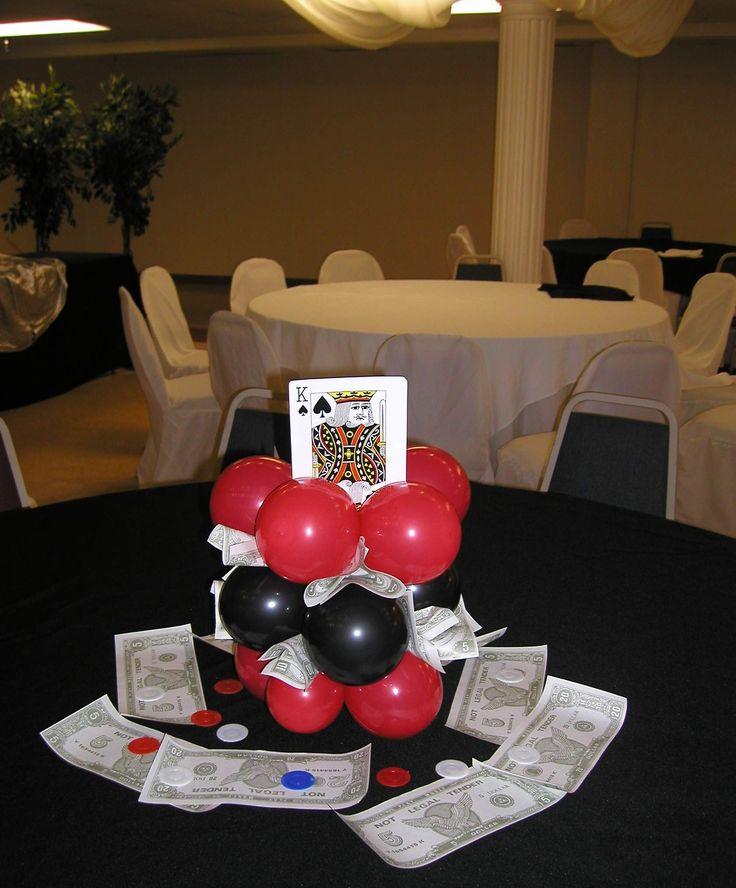 Monte Carlo Night Party Ideas   Casino, Money, Centerpiece Roulette, Casino, Table Las Vegas, Sign ...