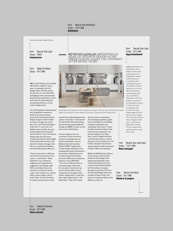 Archome - Magazine by Andrea Mantuano, via Behance