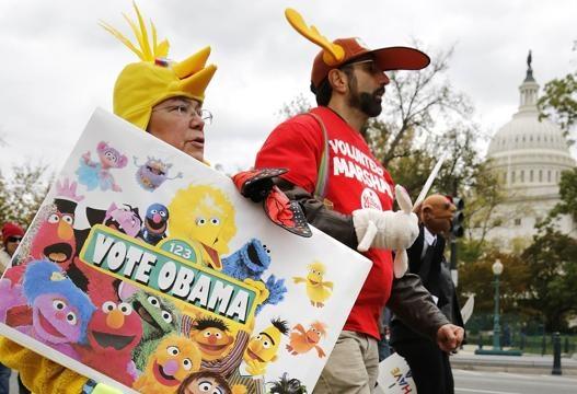 Usa, contro tagli alla tv i Muppets in protesta