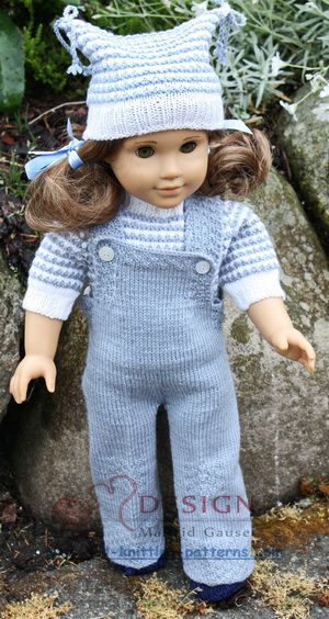 Doll knitting classic fashion for fall