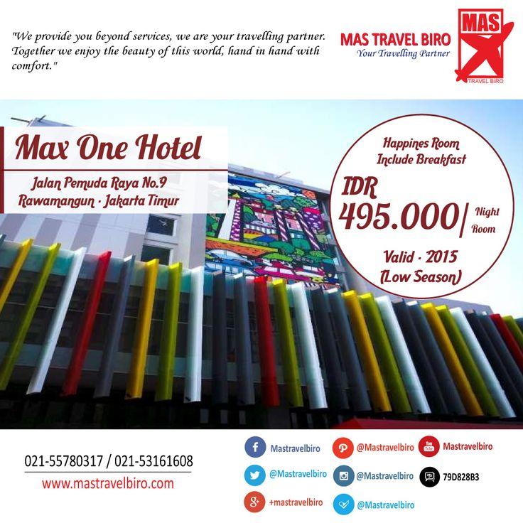 Menginap di Max One Hotel Pemuda Hanya Rp 495.000/Malam , Pesan Sekarang !! ;) #promo #hotel #maxone  #jakarta