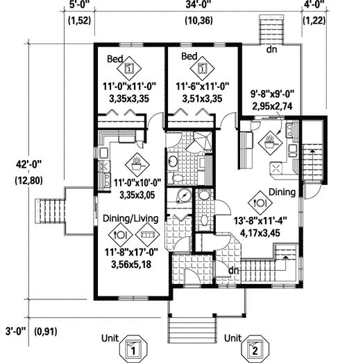 Plan 80733pm multi generational house plan house plans for Multi generational home designs