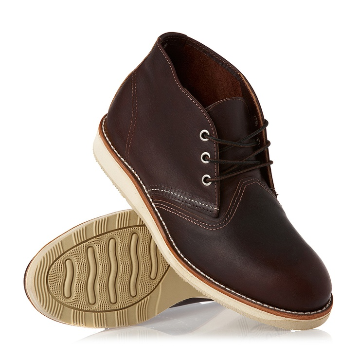 Red Wing Boots - Red Wing Chukka Boots - Briar Oil Slick