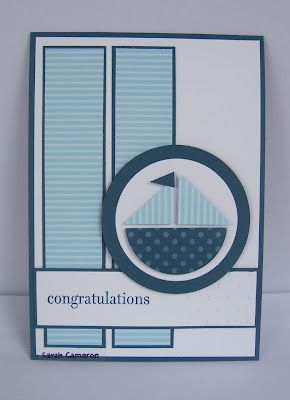 Congratulations card. This layout could be used for so many cards.