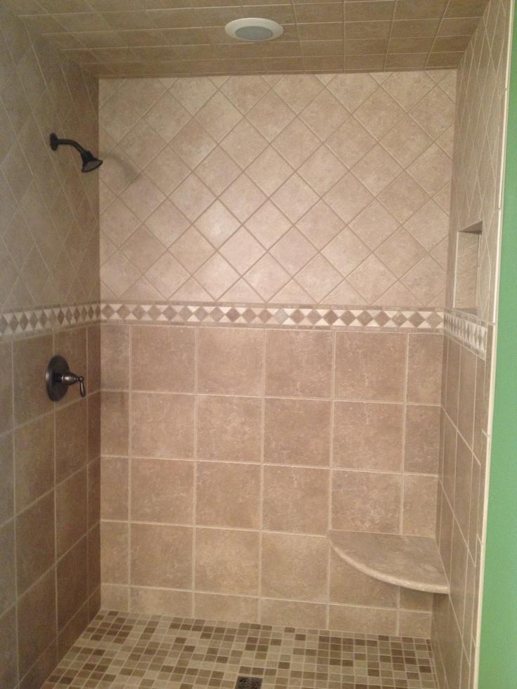 Tiled Shower · Tiled ShowersBathroom ShowersBathroomsBathroom  RemodelingRemodeling ...