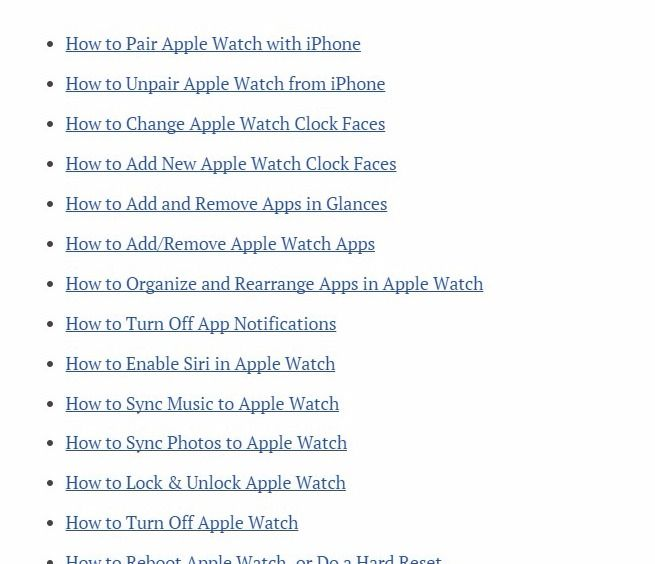 20 Most-Wanted Apple Watch Tips and Tricks - Hongkiat