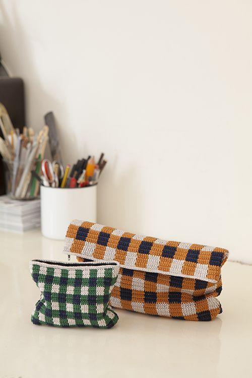"mollamills2: "" Ruutunen bag, free pattern, Molla Mills for Lankava """
