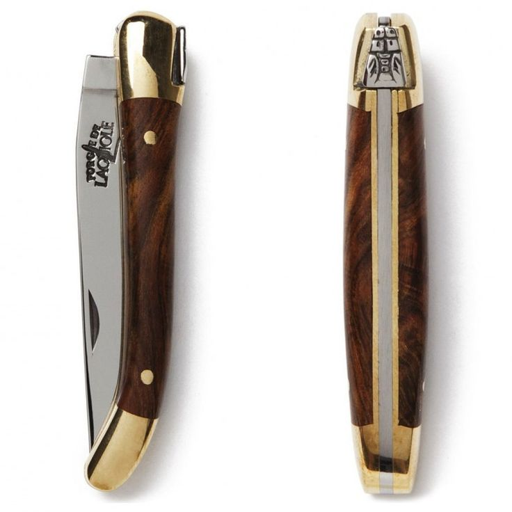France's Laguiole region has been renowned for its excellence in elegant knife making for centuries, each blade is handmade and features the signature Napoleonic bee decoration on its spine. Made from 440 stainless steel and with a blade length of 7cm (2.75 inches), these are ideal everyday-carry pocketknives for those who live in countries with a 3 inch blade size limit. Grab yours here