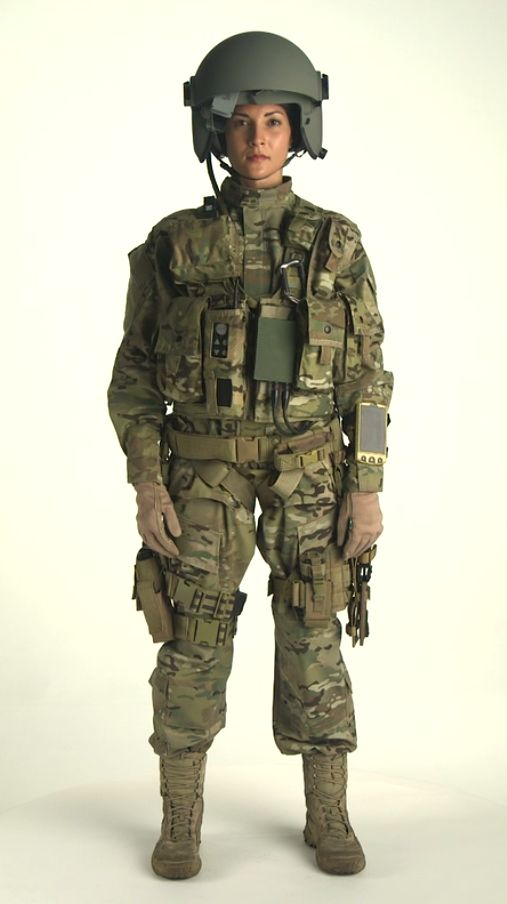 Pilot of the future: U.S. Army gets wearable tech for the battlefield. http://cnet.co/NkyUcZ
