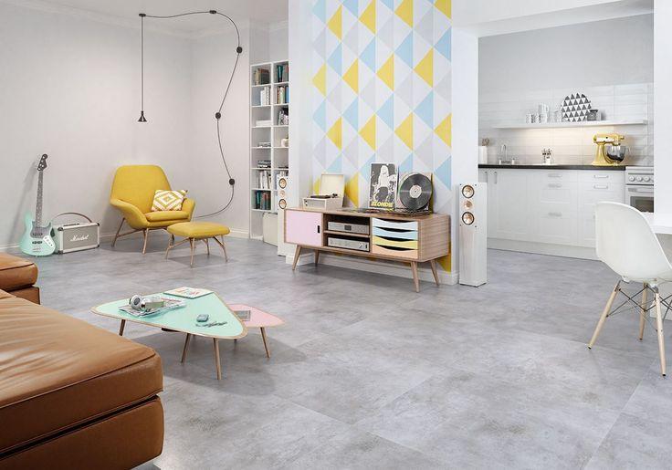"""Nowoczesność, czystość, surowość i minimalizm idealnie grają we współczesnych wnętrzach. Na tych """"nutach"""" bazuje właśnie kolekcja Scratch, która obok innych propozycji inspirowanych modną, naturalną kolorystyką i strukturą betonu, jest obecnie wielkoformatowym przebojem w aranżacjach mieszkań i domów. http://bit.ly/kolekcjaScratch"""