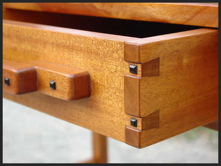 Close Up Of Drawer Construction. Furniture PlansFurniture ...