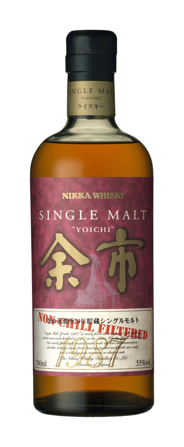 Nikka Single Malt Yoichi 1987