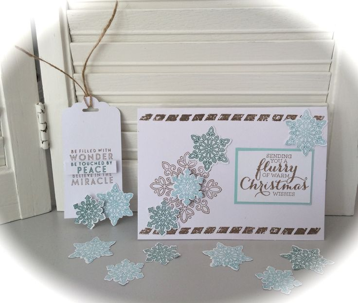 Flurry of Wishes, Stampin' Up! Purchase supplies at www.sharikeller.stampinup.net