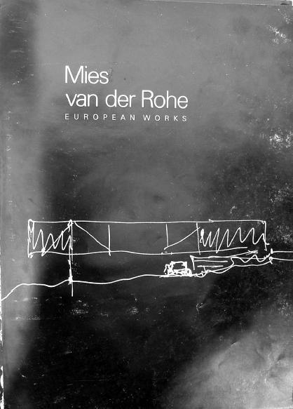Mies Van Der Rohe: Books, Idea, Architecture Sketch Book, Vans, Mies Van Der Rohe Sketch, European Works, Mies Van Der Rohe Architecture, Architecture, Design