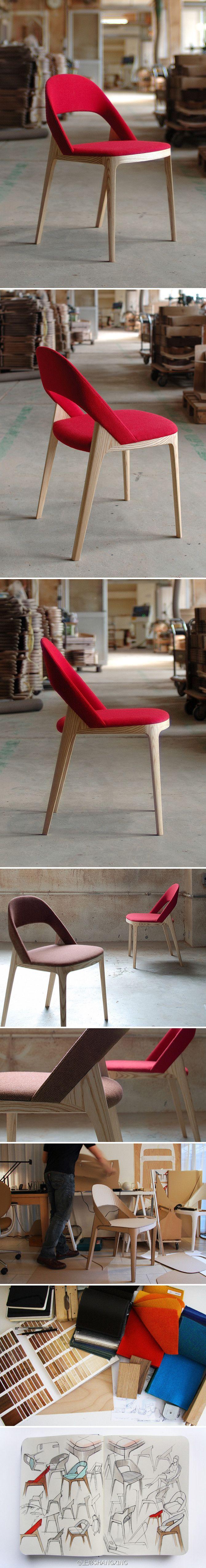 Clamp Chair | http://www.andreaskowalewski.com/ source ideasforbeautypic.com