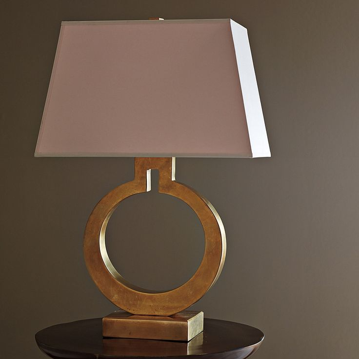 Brass Ring Table Lamp | Serena + Lily