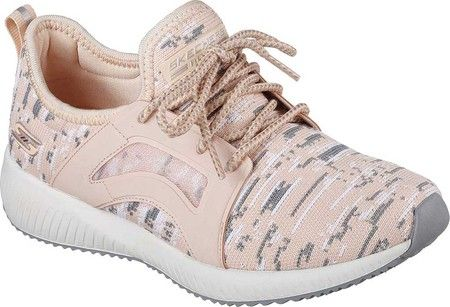 Women's Skechers BOBS Squad Double Dare Sneaker - Peach with FREE Shipping & Exchanges. Take on every challenge in style and comfort with the SKECHERS Bobs Squad - Double Dare Sneaker.