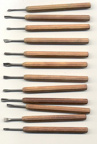 Japanese carving tools | Flickr - Photo Sharing!